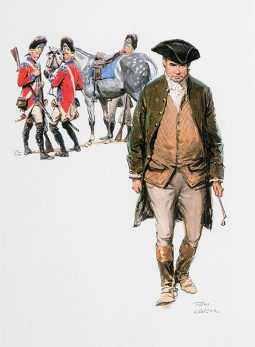 Paul Revere Illustration