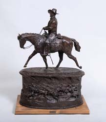 John Wayne – First Unfinished Model for the Monument