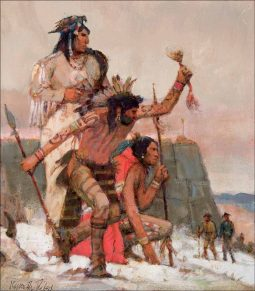Study for Visit of Lewis and Clark