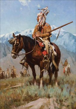 Head Man of the Blood Tribe