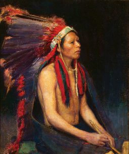 Tah-Tsee-Yo (Red Indian Chief)