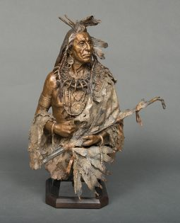 The Greeter-Black Moccasin Hidatsa Chief