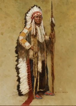 Minicanjou Sioux Chief