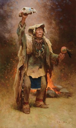 Bear Medicine Man Crow